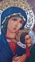 Régi ikon Mária