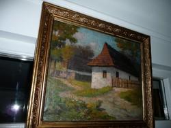 Gróf Károlyi Gyula festménye 73*63 cm