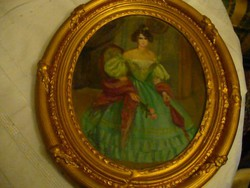 Krammer Mariska szép festménye