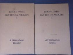 Eladó règi könyv 1985 Henry James egy hölgy arckèpe 1.rèsz 2.rèsz
