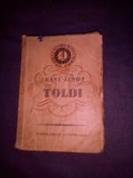 Antik könyv,Arany János Toldi 1848 (1956) kiadás 100.kötet