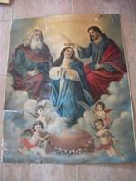 Mária angyalkákkal szentkép eladó!