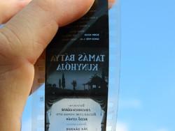 Tamás Bátya kunyhója fekete-fehér diafilm - dia - egy helyen sérült