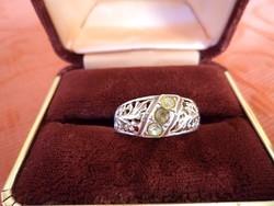 Filigrán ezüst gyűrű 925-ös