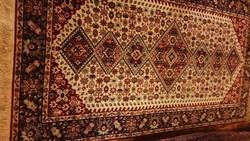 Luxus : Gyönyörű szép selymes gyapjúszőnyeg !