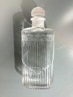 Baeder parfümös üveg régi kölnis üvegdugós art deco palack 20.5 cm