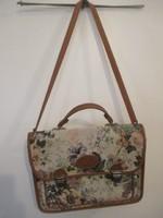 Pavone Vintage virágmintás női táska