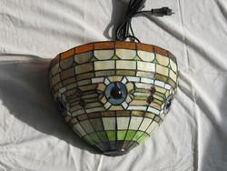 Tiffany fali lámpa