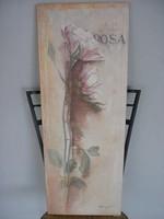 Rózsás kép
