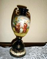 Altwien antik jelenetes váza