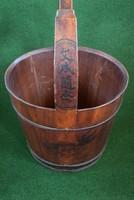 Antik, restaurált kínai vödör!