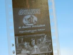 Gulliver az óriások országában fekete -fehér - diafilm dia