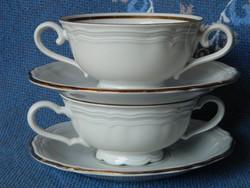 Marie-Luise leveses csésze kistányér 2 db