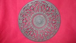 KI09 Antik Buderus öntött vas tányér 24  cm