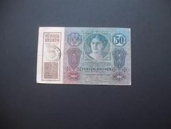 50 korona 1914 1035 Románia FB !!!