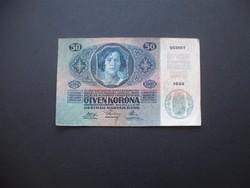 50 korona 1914 1044 Románia FB !!!