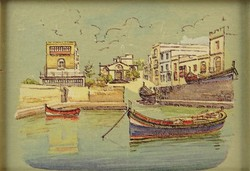 0O289 Máltai kép : Szent Pál öböl