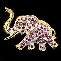 Valodi Rubin 925 Ezust 2 Tonusu Elefant Bross Kituzo