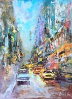 New York....New York.Kiemelkedő  alkotás a nemzetközi hírű művésztől!
