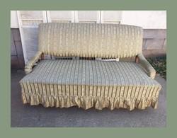 Különleges formájú kanapé,szófa..garnitúra része
