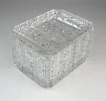 0O544 Régi ólomkristály bonbonier