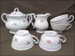 Régi Zsolnay teás készlet maradék