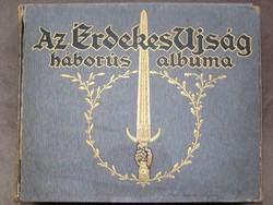 AZ ÉRDEKES ÚJSÁG HÁBORÚS ALBUMA - 120 db!!! - Original!!!