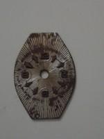 Női karóra számlap, 19,5 x 14 mm