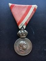 Ferenc József Ezüst Katonai Érdemérem