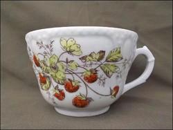 Antik szeder mintás kézzel festett csésze