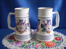Alföldi porcelán sörös korsó, kupa darabra