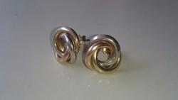 Arany (3 színű) 14 karátos fülbevaló