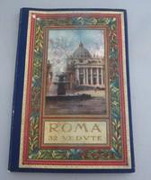 A. Scrocchi, Róma képeslap leporelló a 30-as évekből, 32 db képpel !