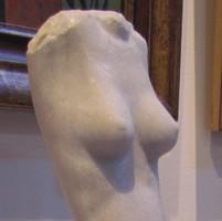 """Kolozsvári Grandpierre Miklós """"Kistorzó"""" című 43 cm magas márványszobra gyűjteményből eladó"""