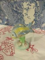 Porcelán hal kékes színű sorszámozot