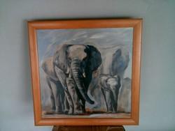 Elefánotos kép