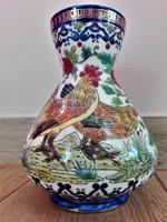 Zsolnay váza(Zsolnay Júlia dekor terve)