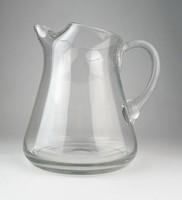 0O542 Régi hibátlan üveg kancsó