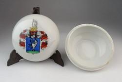 0O548 Zsolnay porcelán LOSONC címeres bonbonier