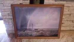 Fa képkeret falc 54x74 cm