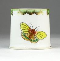 0O589 Herendi viktória porcelán fogpiszkálótartó