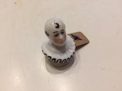 Antik Harlequin fej