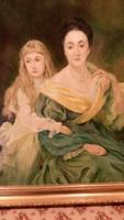 Szentes Zsuzsanna-Anya és lánya