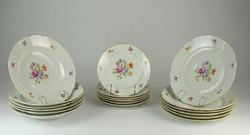 0O576 Régi 6 személyes Eichwald porcelán étkészlet
