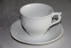 Rosenthal fehér csésze alátéttel
