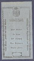 5 Gulden 1806 EF Hátlapi MINTA