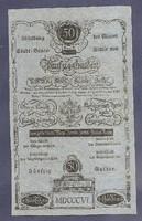 50 Gulden 1806 EF Előlapi MINTA