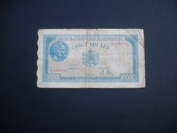 5000 lei 1945