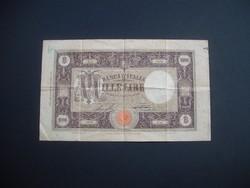 1000 lira 1927 Olaszország RRR !!!