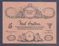 5 Gulden 1841  UNC  MINTA